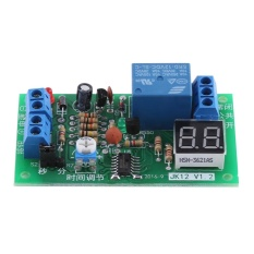 epayst DC12V LED Display Countdown Timing Timer Delay Turn OFF Relay Switch Module