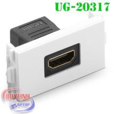 Hình ảnh Đế HDMI âm tường chính hãng UGREEN 20317