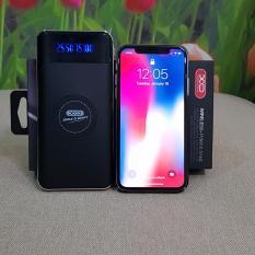 Đế sạc không dây cao cấp kiêm pin dự phòng 10000mAh chuẩn Qi cho iphone X , iphone 8, Note8 XO PB29