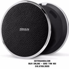 Đế sạc không dây hỗ trợ sac nhanh Nillkin Magic Disk III chuẩn Qi thế hệ thứ 3 (Đen)-HPK