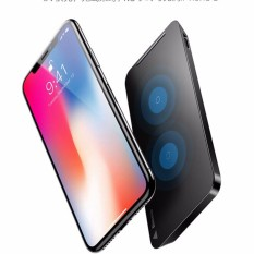 Hình ảnh Đế sạc nhanh không dâythông minh kiêm giá đỡ đa năng chuẩn Qi cho iphone X , iphone 8, Note8 Baseus -WiC1