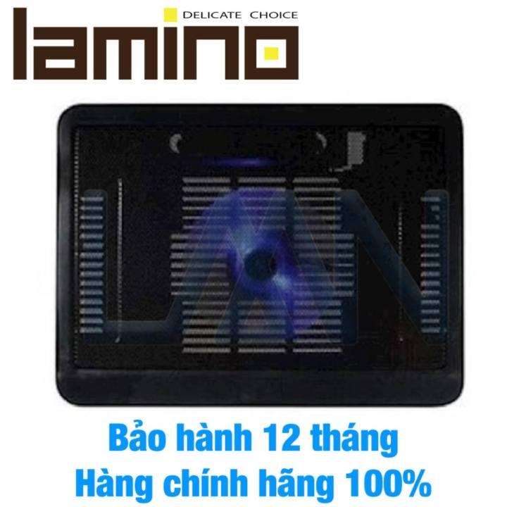 Đế tản nhiệt laptop Cooling N19 1 quạt (Đen)