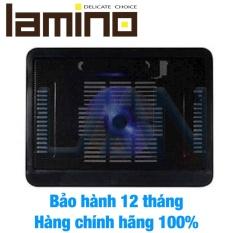 Hình ảnh Đế tản nhiệt laptop Cooling N19 1 quạt (Đen)