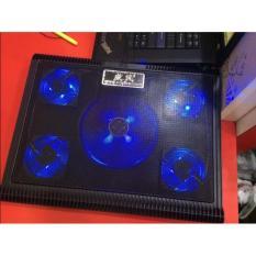 Hình ảnh Đế tản nhiệt laptop LXW-068 5 Quạt (Đen)