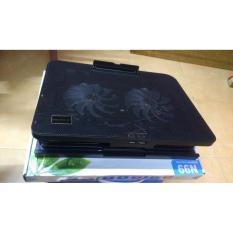 Hình ảnh Đế tản nhiệt N99, 2 quạt, đế nâng (đen)