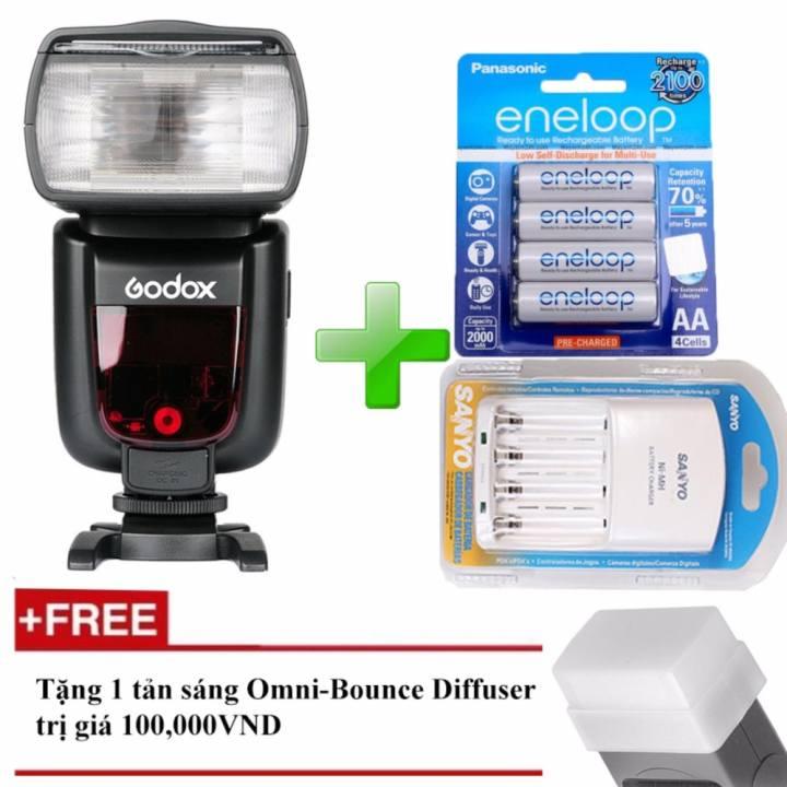 Đèn Flash Godox TT685C Cho Canon - Kèm 4 Pin...