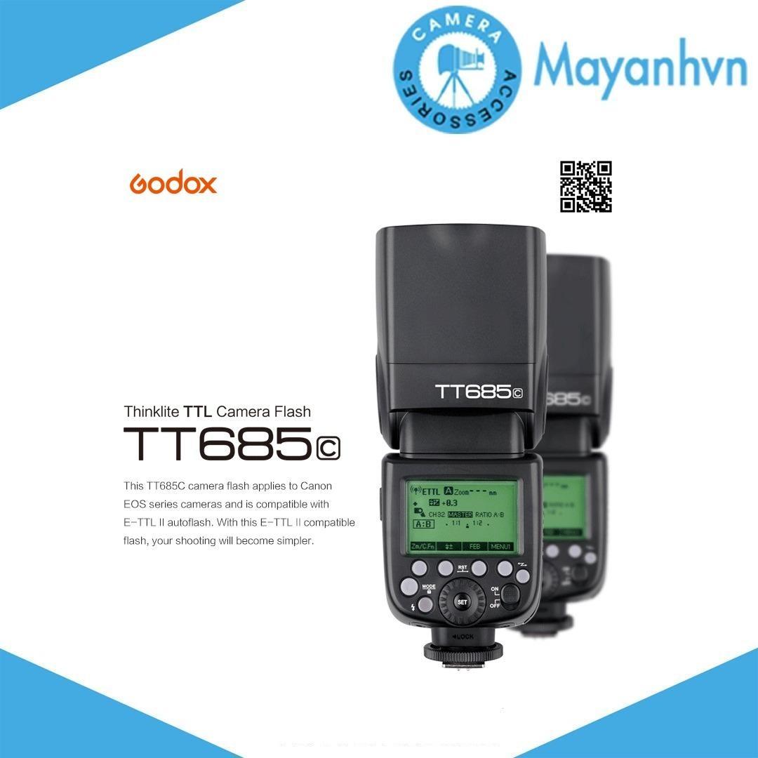 Đèn Flash Godox Tt685C For Canon