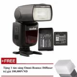 Mã Khuyến Mại Đen Flash Godox V860Ii Cho Canon Kem Pin Va Sạc Tặng Tản Sang Omni Bouce