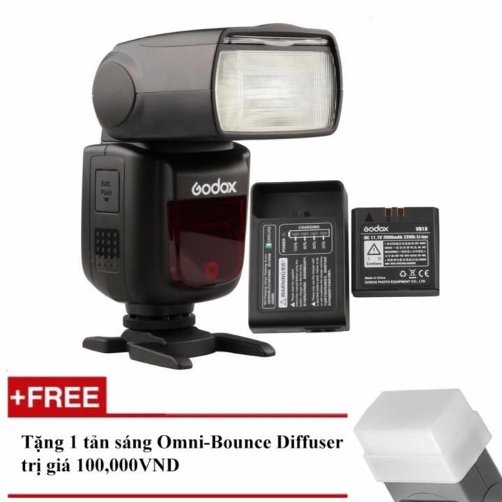 Đèn Flash Godox V860II Cho Canon (Kèm pin và sạc)...