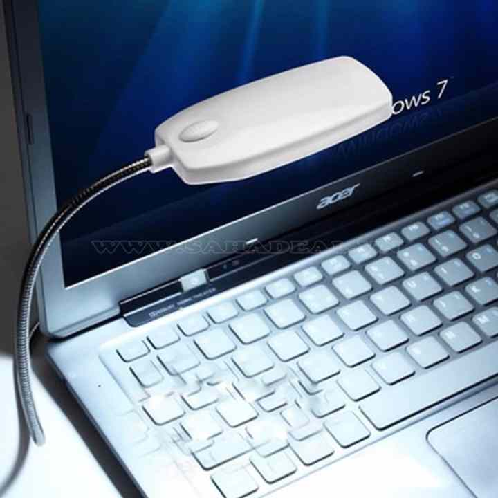 Đèn LED 28 bóng cổng USB máy tính (Đen)