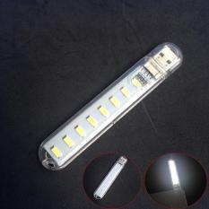 Hình ảnh Đèn Led 8 Bóng Cực Sáng Cắm Cổng USB (loại tốt)