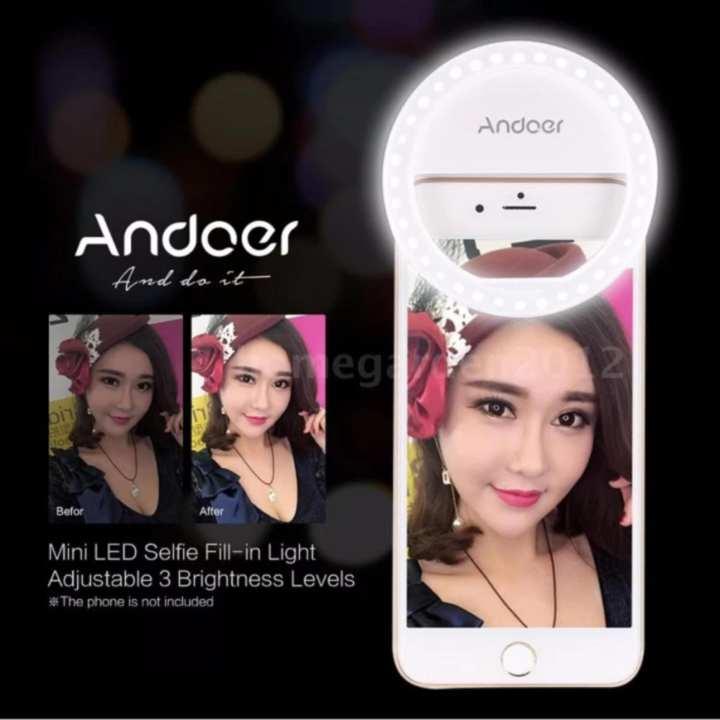 Đèn Led chụp ảnh tự sướng cực đẹp - Đèn Selfie ring light XJ01 dc2435