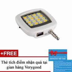 Hình ảnh Đèn LED flash 16 bóng cực sáng hỗ trợ selfie + Tặng kèm 1 thẻ tích điểm nhận quà tại gian hàng Verygood