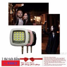 Đèn LED flash 16 bóng cực sáng hỗ trợ selfie + Tặng thẻ tích điểm