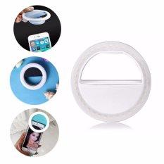 Hình ảnh Đèn LED kẹp điện thoại N01 hỗ trợ chụp hình Selfie Detek màu Trắng