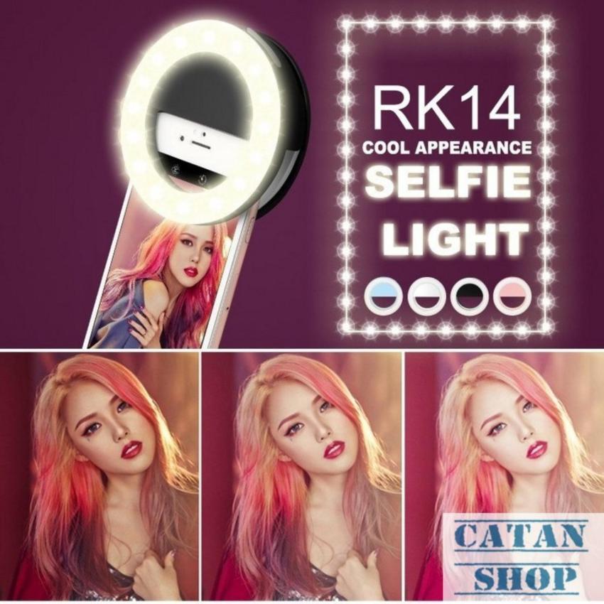 Hình ảnh Đèn LED selfie cực sáng, đèn trợ sáng pro chụp hình tự sướng ring light SLED-RK14