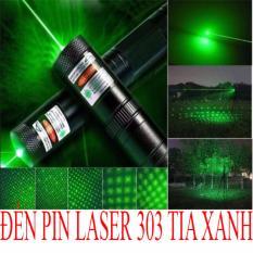 Đèn Pin Chiếu Tia Laser 303 Tia Xanh By Shop Olivin.