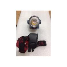 Hình ảnh Đèn pin đeo đầu sạc điện bóng Led siêu sáng cao cấp (Akasha 9811)