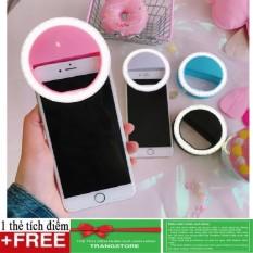 Hình ảnh Đèn selfie Ring light cho điện thoại tặng kèm dây sạc ( loại xịn ) + Tặng kèm thẻ tích điểm Trangstore