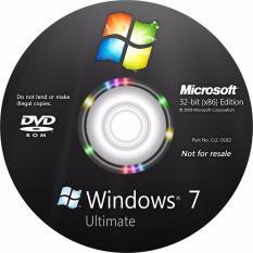 Hình ảnh Đĩa Cài window 7 ultimate 32bit (KM office 2007) driver full
