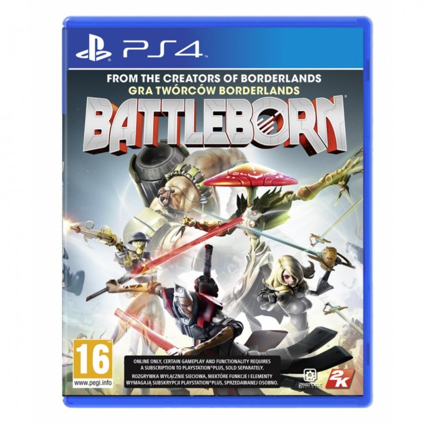 Đĩa Game Cho Ps4 Battleborn