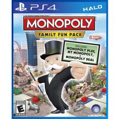 Ôn Tập Trên Đĩa Game Monopoly Family Fun Pack
