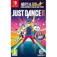 Hình ảnh Đĩa game Nintendo Switch: Just Dance 2018