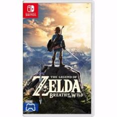 Bán Đĩa Game Nintendo Switch The Legend Of Zelda Breath Of The Wild Eng Jp Có Thương Hiệu Nguyên