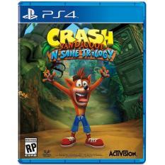 Đĩa game ps4 Crash bandicoot