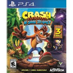 Mua Đĩa Game Ps4 Crash Bandicoot N Sane Trilogy
