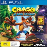 Bán Mua Đĩa Game Ps4 Crash Bandicoot N Sane Trilogy Game