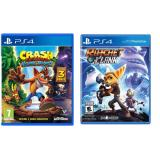Giá Bán Bộ 2 Đĩa Game Crash Bandicoot N Sane Trilogy Ratchet Clank Danh Cho May Sony Ps4 Sony Computer Entertainment