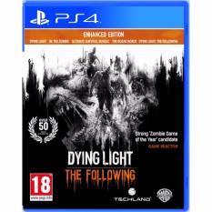 Bán Mua Đĩa Game Ps4 Dying Light The Following Enhanced Edition Mới Hà Nội