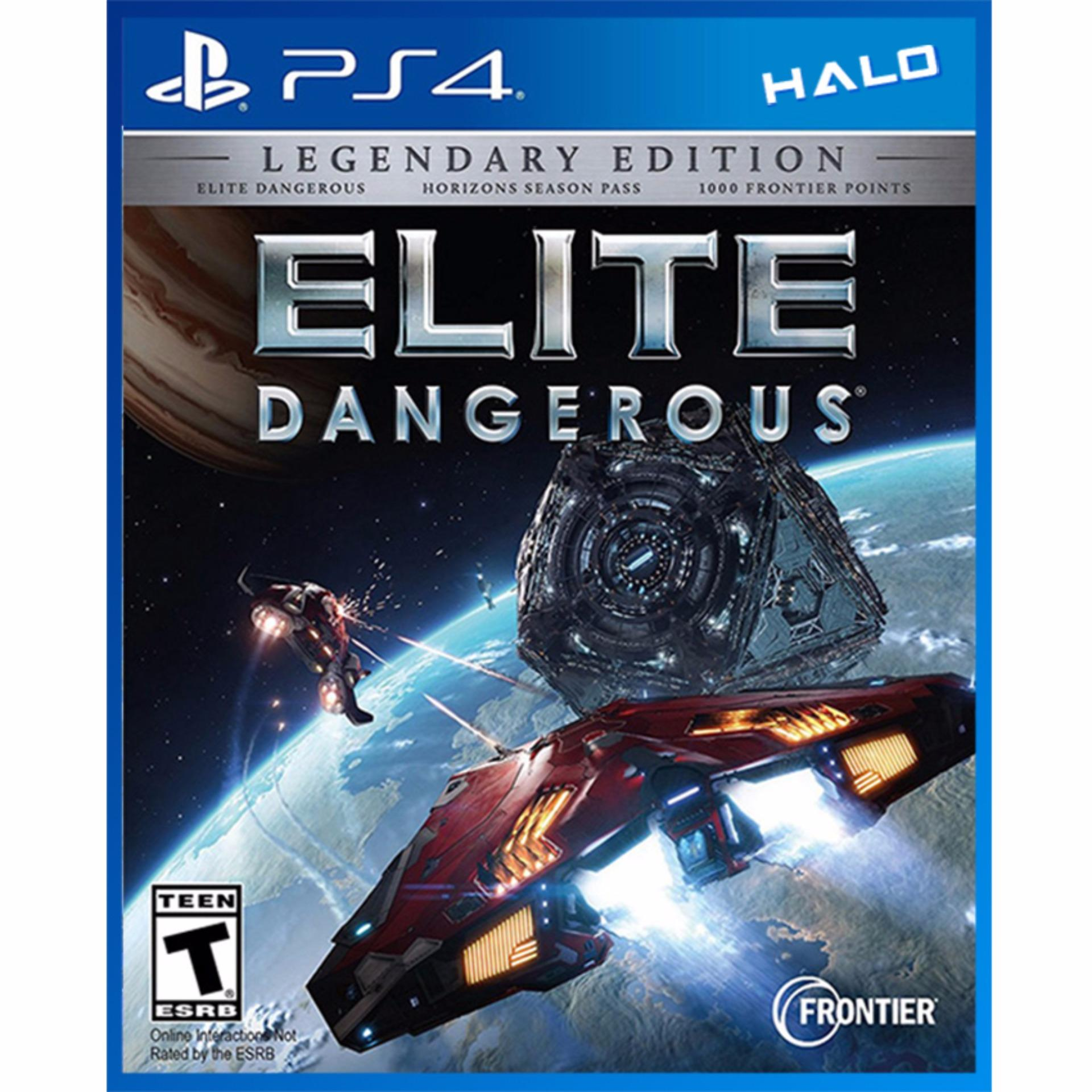 Đĩa Game Ps4 Elite Dangerous: The Legendary Edition
