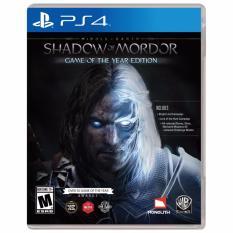 Giá Bán Đĩa Game Ps4 Middle Earth Shadow Of Mordor Ps4 Nguyên