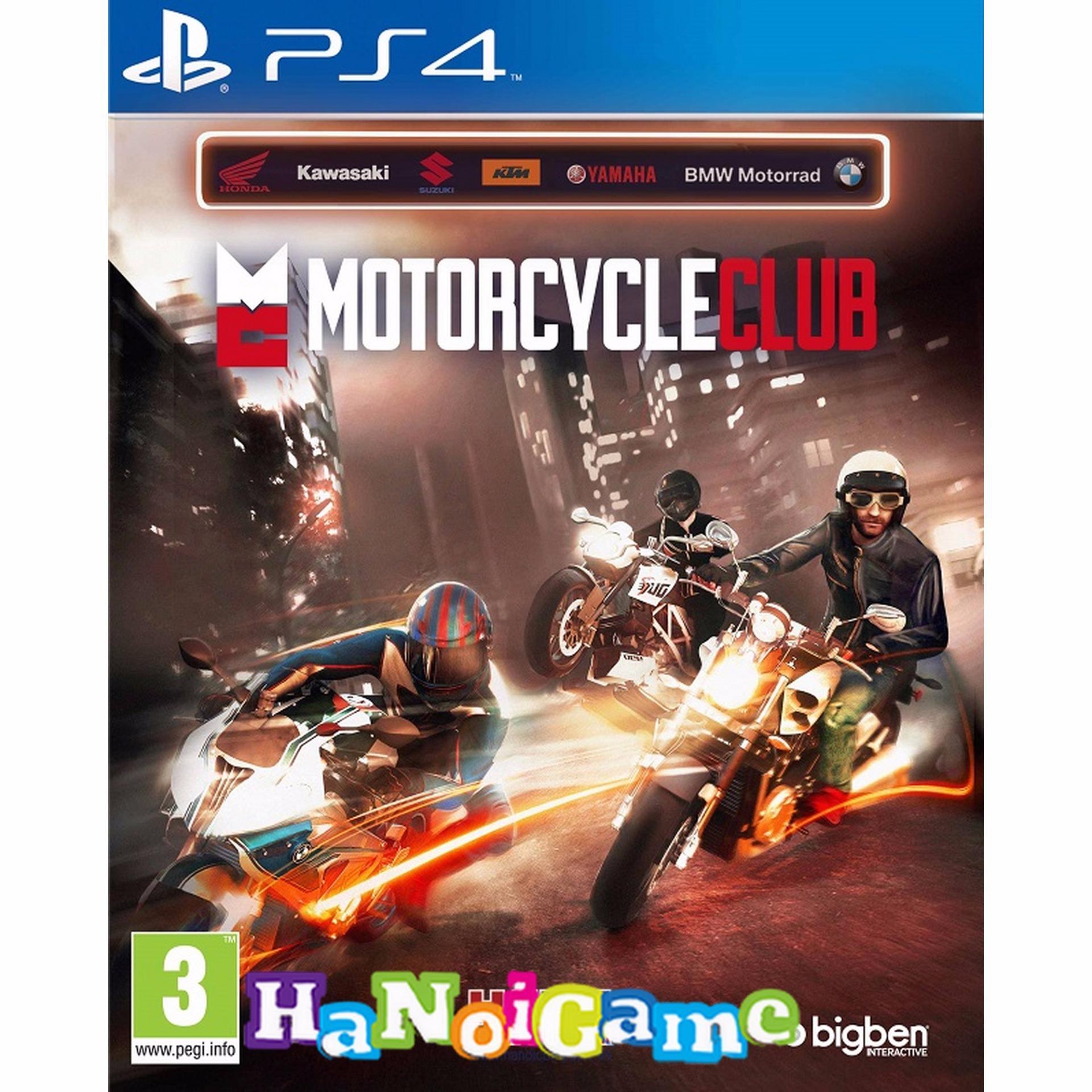 Đĩa Game Ps4: Motorcycle Club