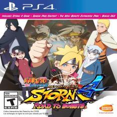 Mua Đĩa Game Ps4 Naruto Shippuden Ultimate Ninja Storm 4 Road To Boruto Mới Nhất