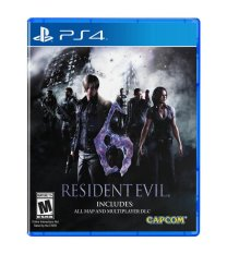 Bán Đĩa Game Ps4 Resident Evil 6 Remastered Sony Entertainment Rẻ