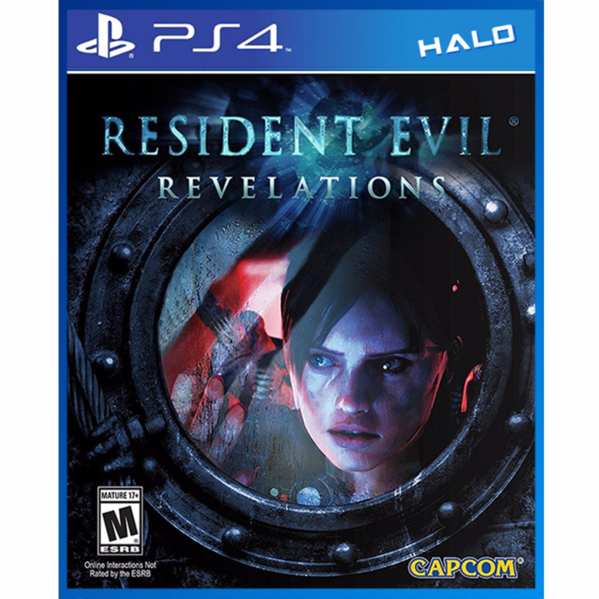 Đĩa Game Ps4 Resident Evil Revelations