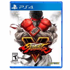 Giá Bán Đĩa Game Ps4 Street Fighter V Nguyên