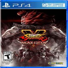 Mua Đĩa Game Ps4 Street Fighter V Arcade Edition Capcom