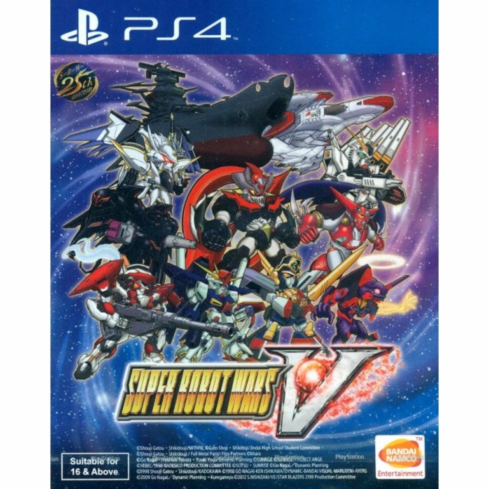 Đĩa Game Ps4 Super Robot Wars V
