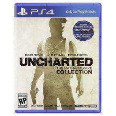 Giá Bán Đĩa Game Ps4 Uncharted Collection Mới
