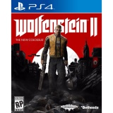 Bán Đĩa Game Ps4 Wolfenstein Ii The New Colossus Bethesda Softworks