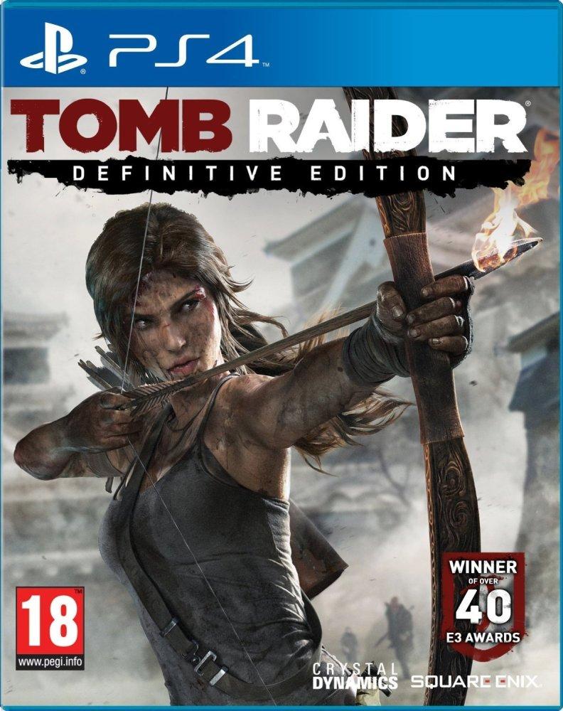 Đĩa Game Tomb Raider: Definitive Edition Dành Cho Ps4