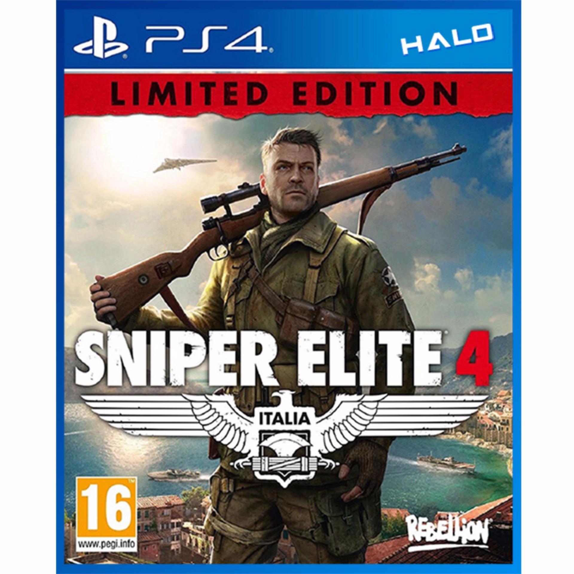 Đĩa Games Ps4 Sniper Elite 4 Limited Edition