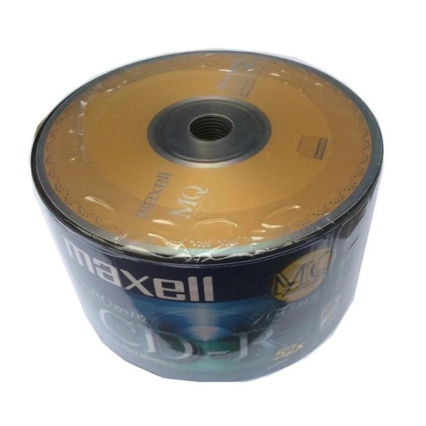 Bảng Giá Bộ 50 Đĩa Trắng CD – R Maxell Ghi 4x – 52X