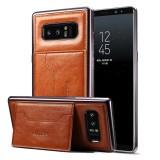 Mã Khuyến Mại Dibase Danh Cho Samsung Galaxy Note 8 Mạ Điện Tpu Ngựa Đien Họa Tiết Da Bảo Vệ Ốp Lưng Gia Đỡ Va Khe Cắm Thẻ Va Day Buộc Mau Nau Quốc Tế Sunsky