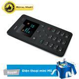Giá Bán Điện Thoại Atm Card Phone M5 Kết Nối Bluetooth Đồng Bộ Với Smartphone Mới