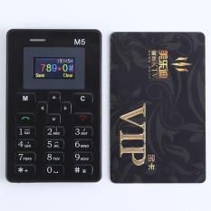 Ôn Tập Điện Thoại Di Động Mỏng Nhất Thế Giới Aiek Mini M5 Kết Nối Bluetooth Mau Đen